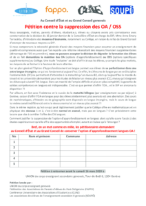 thumbnail of Pétition contre la suppression des OA_OSS